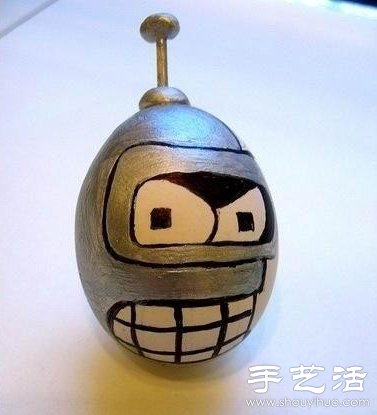 鸡蛋+沙子 手工DIY可爱不倒翁 -  www.shouyihuo.com