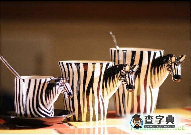立体动物马克杯2
