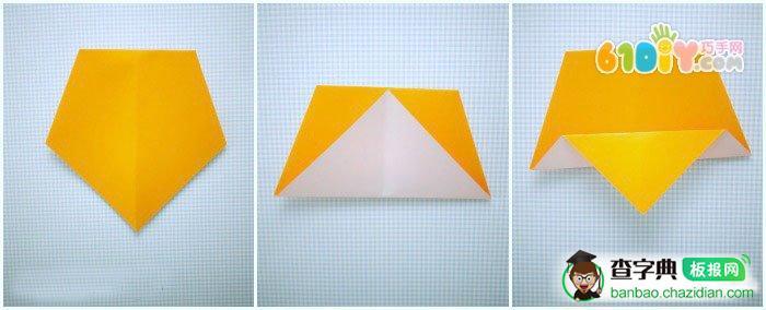 幼儿折纸猫头鹰