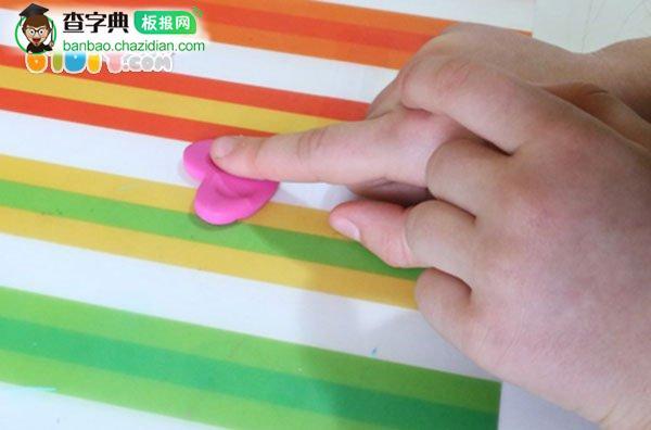 母亲节手工制作甜蜜的指纹爱心