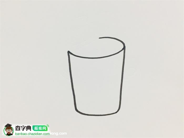 垃圾分类简笔画涂色