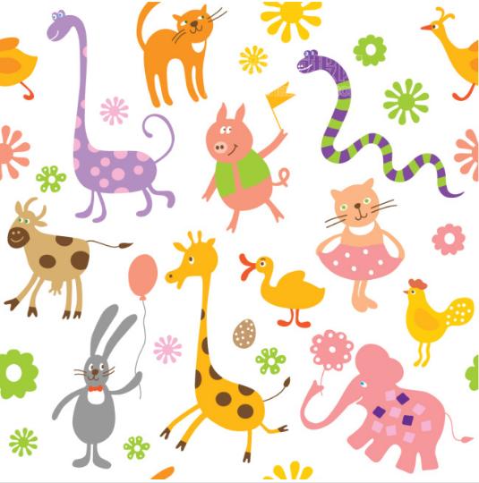 小动物插图