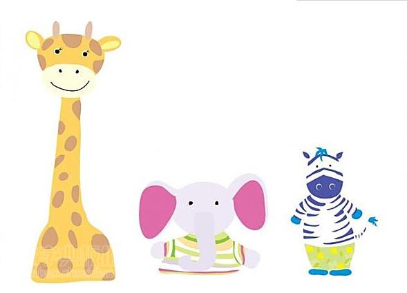 卡通  动物插图
