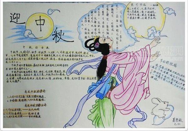 中秋节-手抄报