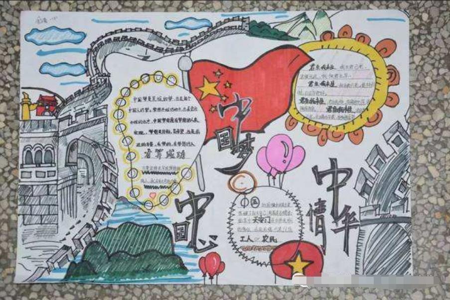 新中国成立70周年_70周年手抄报内容